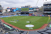 General overall view of Yankee Stadium during a MLS soccer game between the San Jose Earthquakes and New York City FC, Saturday, Sept. 14, 2019, in New York.(Errol Anderson/Image of Sport)