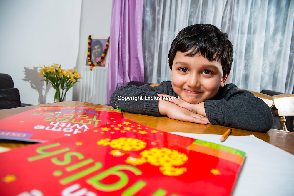 EXCLUSIVE - UK's youngest tutored child  jaayen, 4 years old, is tutored 13 hours a week and has homework of 3 hours a day, mum Tj ray and dad marcus ray, say they stand by there child being tutored because of the state of the schools and dont feel there pushed enough <br /> in class<br /> Photo shows: UK's youngest tutored child  jaayen, 4 years old<br /> &copy;Exclusivepix