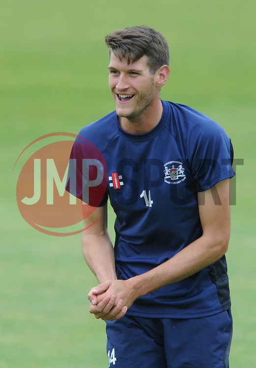 David Payne of Gloucestershire - Photo mandatory by-line: Dougie Allward/JMP - Mobile: 07966 386802 - 12/06/2015 - SPORT - Cricket - Bristol - County Ground - Gloucestershire v Glamorgan - Natwest T20 Blast