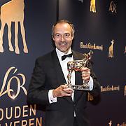 NLD/Utrecht/20181005 - L'OR Gouden Kalveren Gala 2018, Joram Lursen met zijn gouden kalf