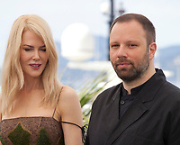 Nicole Kidman and director Yorgos Lanthimos at the The Killing of a Sacred Deer  film photo call at the 70th Cannes Film Festival Monday 22nd May 2017, Cannes, France. Photo credit: Doreen Kennedy