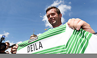 06/06/14<br /> CELTIC PARK - GLASGOW<br /> Ronny Delia is unveiled as the new manager of Celtic