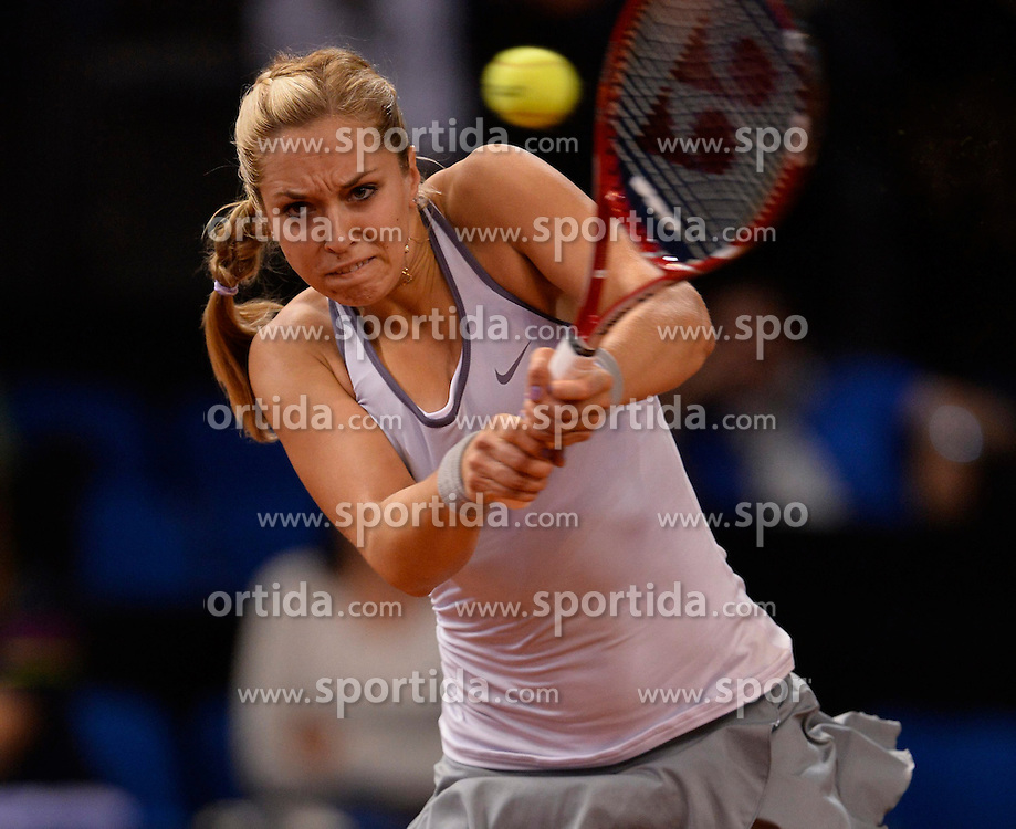 23.04.2013, Porsche Arena, GER, WTA, Porsche Tennis Grand Prix Stuttgart, im Bild Sabine LISICKI (GER) // during WTA Porsche Tennis Grand Prix at the Porsche Arena, Stuttgart, Germany on 2013/04/23. EXPA Pictures © 2013, PhotoCredit: EXPA/ Eibner/ Weber..***** ATTENTION - OUT OF GER *****
