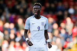 Tammy Abraham of England U21 looks on - Rogan Thomson/JMP - 11/10/2016 - FOOTBALL - Bescot Stadium - Walsall, England - England U21 v Bosnia and Herzegovina - UEFA European Under 21 Championship Qualifying.