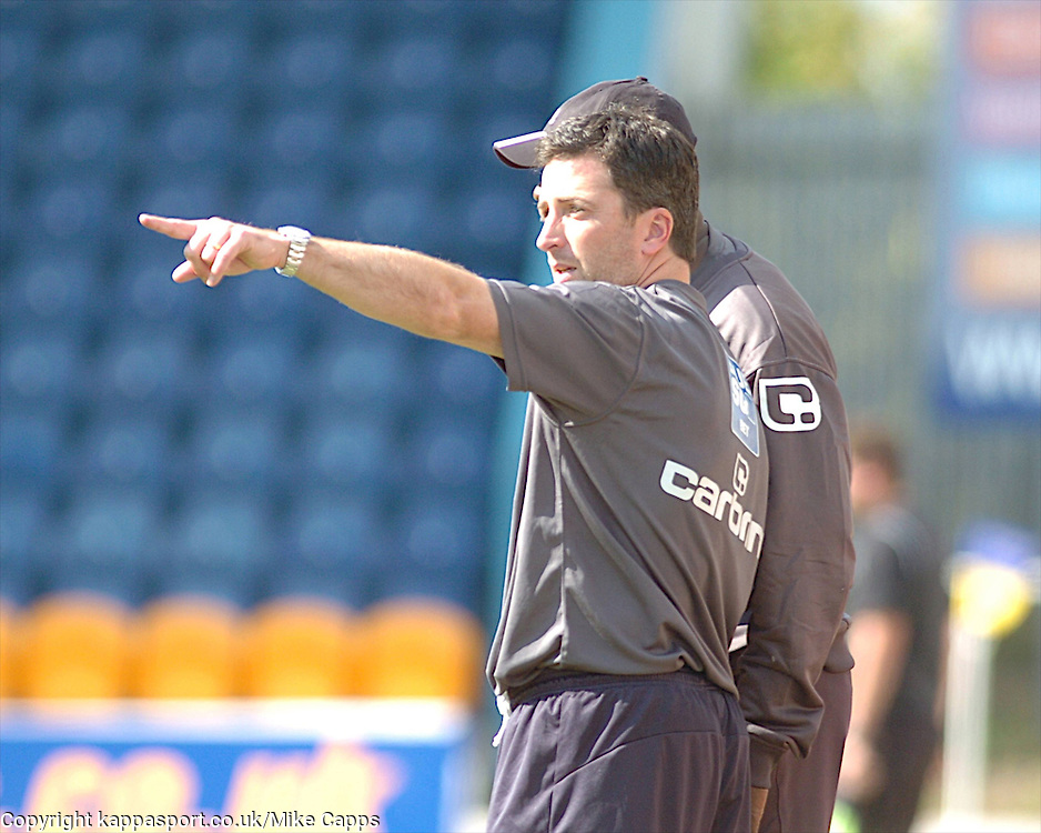 NICKY EADEN, ASS MANAGER, KETTERING TOWN, Mansfield Town v Kettering Town, Blue Square Premier Field Mill, Saturday 27th August 2011