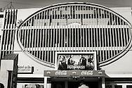 A movie theatre in Varanasi (Benares), India.