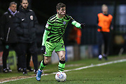 Forest Green Rovers Jack Aitchison(29), on loan from Celtic on the ball during the EFL Sky Bet League 2 match between Forest Green Rovers and Port Vale at the New Lawn, Forest Green, United Kingdom on 11 February 2020