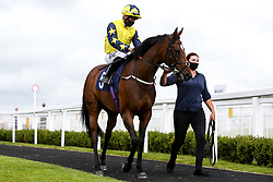 Storm At Dawn ridden by S M Levey trained by I Mohammed - Mandatory by-line: Robbie Stephenson/JMP - 06/08/2020 - HORSE RACING - Bath Racecourse - Bath, England - Bath Races