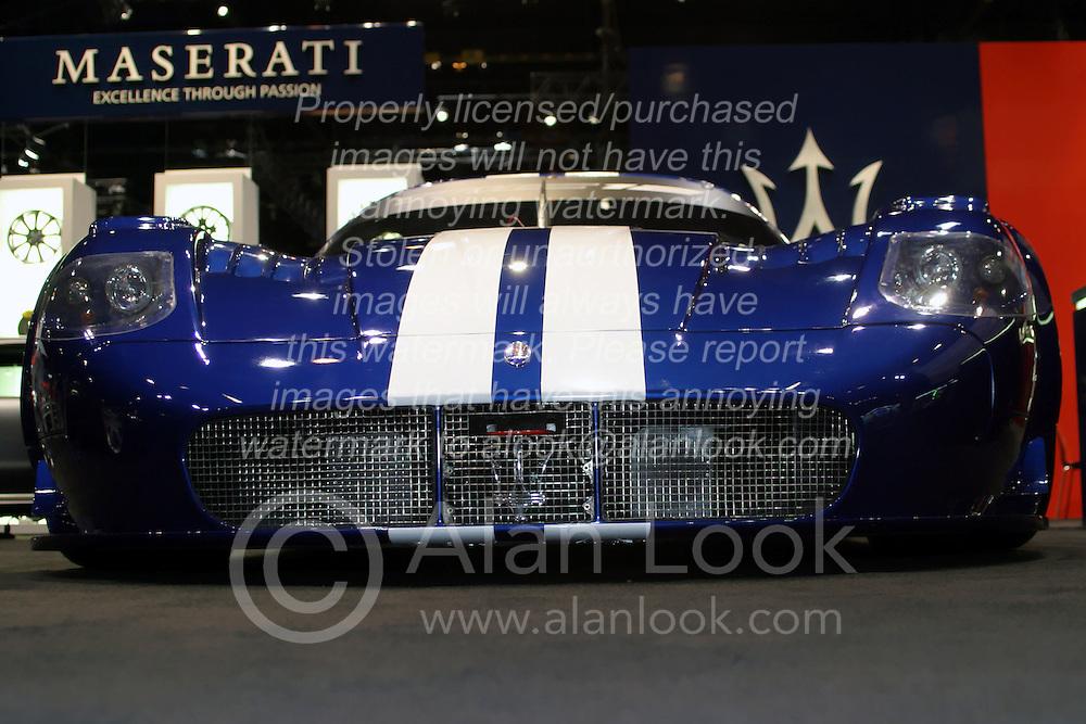 09 February 2006:  Maserati Race car.....Chicago Automobile Trade Association, Chicago Auto Show, McCormick Place, Chicago IL