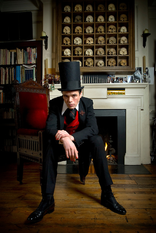 Sebastian Horsley, British author and professional dandy and author of 'Dandy in the Underworld', an autobiography of drug addiction and sex in his Soho home in London. Sebastian died in 2010 from a drugs overdose..