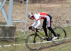 13.01.2019, Wien, AUT, ÖRV, Rad Radcross Staatsmeisterschaft, Herren Elite im Bild Gregor Raggl (AUT, Möbel Märki MTB Pro Team) // during mens elite cyclo cross championship, Vienna, Austria on 2019/01/03. EXPA Pictures © 2019, PhotoCredit: EXPA/ R. Eisenbauer