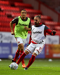 Charlton Athletic Ricky Holmes before the game