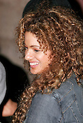 Miri Ben-Ari in the front row at the Baby Phat / Phat Farm Funkshion Fashion Week show Wednesday, March 22, 2006 in Miami, Florida.
