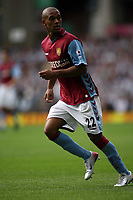 Photo: Rich Eaton.<br /> <br /> <br /> <br /> Aston Villa v Newcastle United. The Barclays Premiership. 27/08/2006. Luke Moore man of the match and Villas first goal scorer of the game