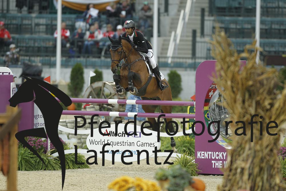 AL NEHAYAN SHK. Shakhbot, Muscardis De Ariel<br /> Kentucky - Alltech FEI WEG 2010<br /> /Stefan Lafrentz