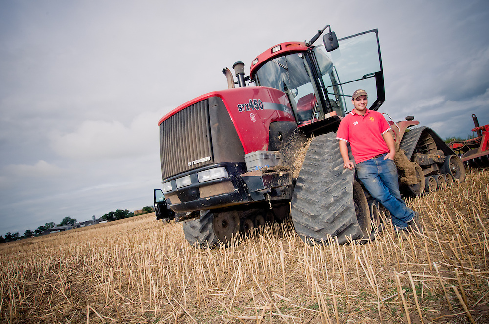 Farming PR Photography in Cheshire at Eaton Estate