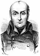 (Nicolas) Francois Appert (1749-1841) French chef and inventor of method of preserving food in glass bottles, then in tin-plated cans. Wood engraving c1870