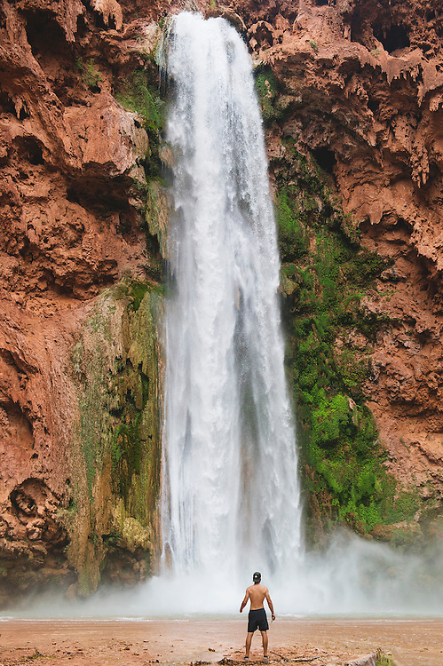 Mooney Falls Havasupai Arizona