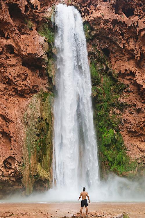 Mooney Falls Havasupai Arizona
