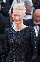 Tilda Swinton at the 70th Anniversary Ceremony arrivals at the 70th Cannes Film Festival Tuesday 23rd May 2017, Cannes, France. Photo credit: Doreen Kennedy