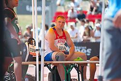 PROKHOROV Nikita, RUS, Javelin, F46, 2013 IPC Athletics World Championships, Lyon, France