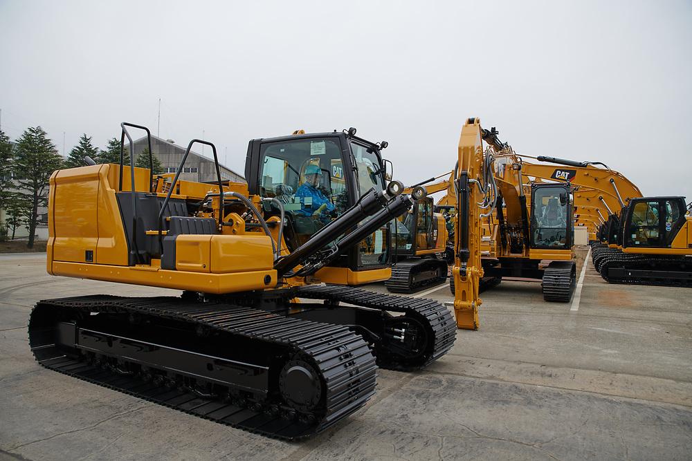 CAT NextGen Excavator Japan