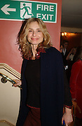 MARYAM D'ABO. Opening night of Embers, Duke of York's theatre. St. Martin's Lane. London. 1 March 2006. ONE TIME USE ONLY - DO NOT ARCHIVE  © Copyright Photograph by Dafydd Jones 66 Stockwell Park Rd. London SW9 0DA Tel 020 7733 0108 www.dafjones.com