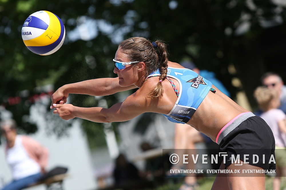 NEVZA Beach Volleyball zonal tournament for women at Dalum Hallen, Odense, Denmark, 11.06.2017. Photo Credit: Allan Jensen/EVENTMEDIA.