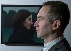 An Edinburgh College of Art graduate&rsquo;s prize-winning entry in a prestigious, worldwide portrait competition will go on show in Scotland for the first time this winter. The 2017 BP Portrait Award exhibition, which opens at the Scottish National Portrait Gallery on 18 December, will feature 53 stand-out works selected from 2,580 entries, by artists from 87 countries, including Breech! by Benjamin Sullivan which took this year's first prize. <br /> <br /> Pictured: Second prize winner, Thomas Ehretsmann with 'Double Portrait'  a painting of his wife Caroline.