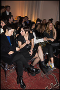 LORDENZA BARONCELLI, James Franco talk and supper at Mansfield St. hosted by Maja Hoffmann. London. 23 November 2014
