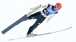 16.03.2017, Granasen, Trondheim, NOR, FIS Weltcup Ski Sprung, Raw Air, Trondheim, im Bild Markus Eisenbichler (GER) // Markus Eisenbichler of Germany // during the 3rd Stage of the Raw Air Series of FIS Ski Jumping World Cup at the Granasen in Trondheim, Norway on 2017/03/16. EXPA Pictures © 2017, PhotoCredit: EXPA/ Tadeusz Mieczynski