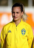 International Women's Friendly Matchs 2019 / <br /> Womens's Algarve Cup Tournament 2019 - <br /> Portugal v Sweden 2-1 ( Municipal Stadium - Albufeira,Portugal ) - <br /> Nathalie Bjorn of Sweden