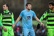 Coventry City's Chris Stokes(3) during the EFL Sky Bet League 2 match between Forest Green Rovers and Coventry City at the New Lawn, Forest Green, United Kingdom on 3 February 2018. Picture by Shane Healey.