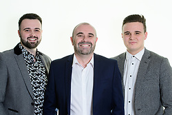 Ryland Design Services Ltd: From left, Ashley Allison, Andrew Allison and Bradley Allison<br /> <br /> Picture: Chris Vaughan Photography<br /> Date: January 29, 2018