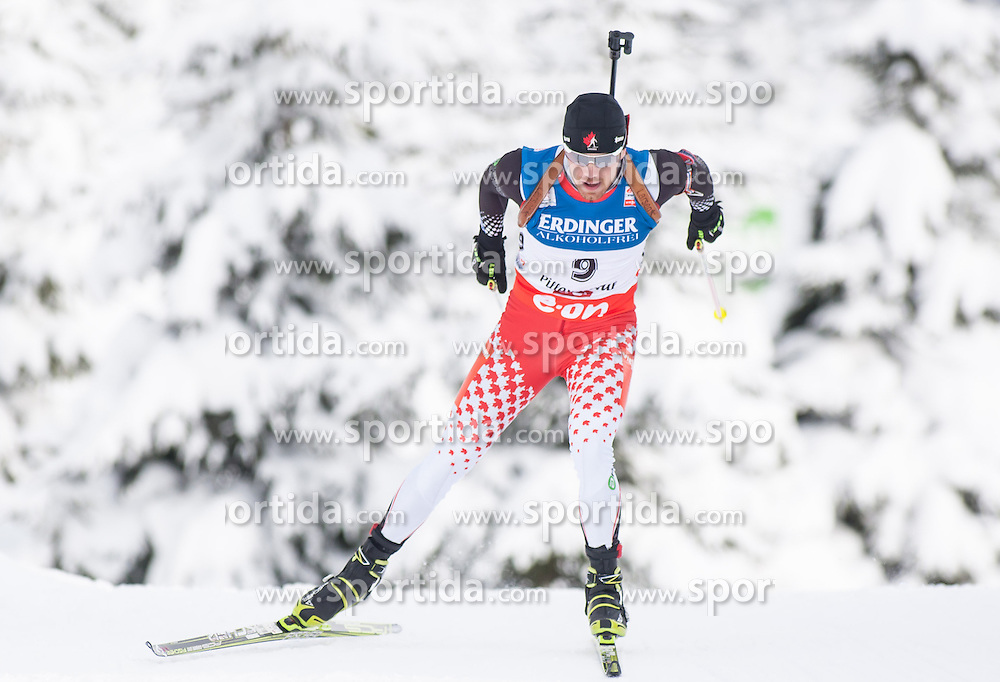 07.12.2012, Biathlonarena, Hochfilzen, AUT, E.ON IBU Weltcup, Sprint, Herren, im Bild Nathan Smith (CAN) // Nathan Smith of Canada during Mens sprint of E.ON IBU Biathlon World Cup at the Biathlonstadium in Hochfilzen, Austria on 2012/12/07. EXPA Pictures © 2012, PhotoCredit: .EXPA/ Juergen Feichter