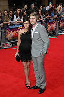 Clair Meek; James Buckley The Inbetweeners Movie world premiere, Vue Cinema, Leicester Square, London, UK, 16 August 2011:  Contact: Rich@Piqtured.com +44(0)7941 079620 (Picture by Richard Goldschmidt)
