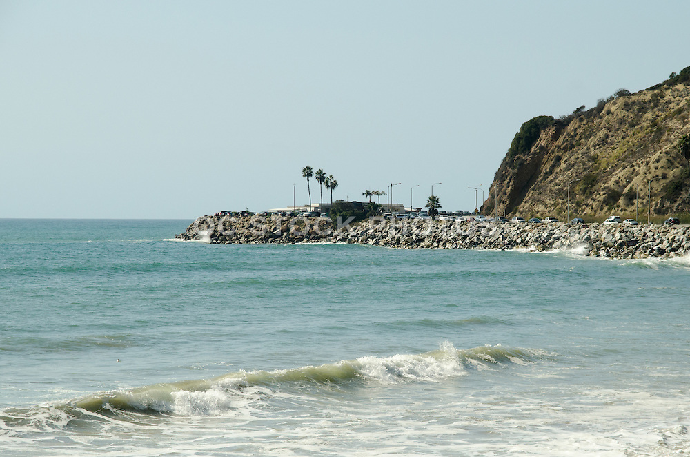 Mastro's Ocean Club Restaurant Along Coast Highway In Malibu