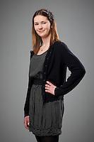 Manon Robertet á fermingardaginn sinn 3. apríl 2011..