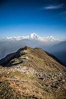 Dhaulagiri Range Views from Khopra Ridge