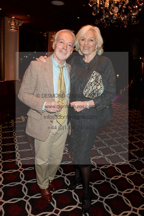 NICKOLAS GRACE and JEAN MANDRY at a party to celebrate the publication of 'Passion for Life' by Joan Collins held at No41 The Westbury Hotel, Mayfair, London on21st October 2013.
