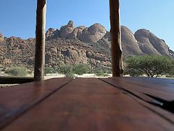 NAMIBIA DAMARALAND SPITZKOPPE 24APR14 - Campsite at the Spitzkoppe National Park, Damaraland, Namibia.<br /> <br /> jre/Photo by Jiri Rezac<br /> <br /> © Jiri Rezac 2014