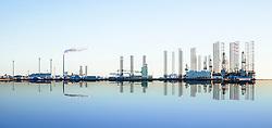 Borerigge ved Esbjerg havn