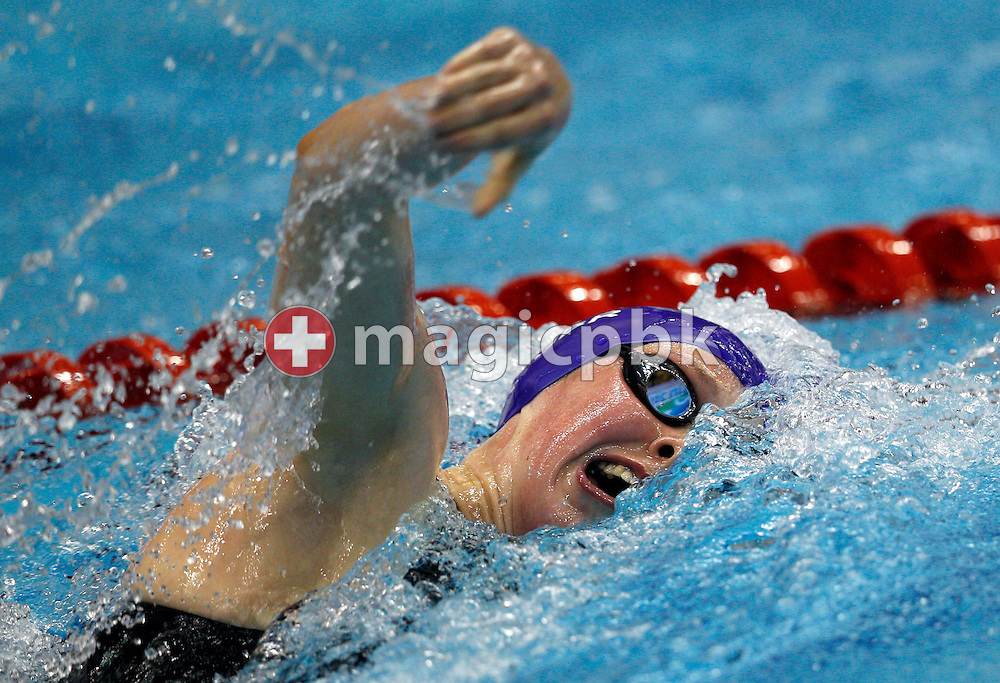Hannah MILEY of Great Britain competes in the women's 400m Freestyle Final during the 15th European Short Course Swimming Championships in Szczecin, Poland, Saturday, Dec. 10, 2011. (Photo by Patrick B. Kraemer / MAGICPBK)