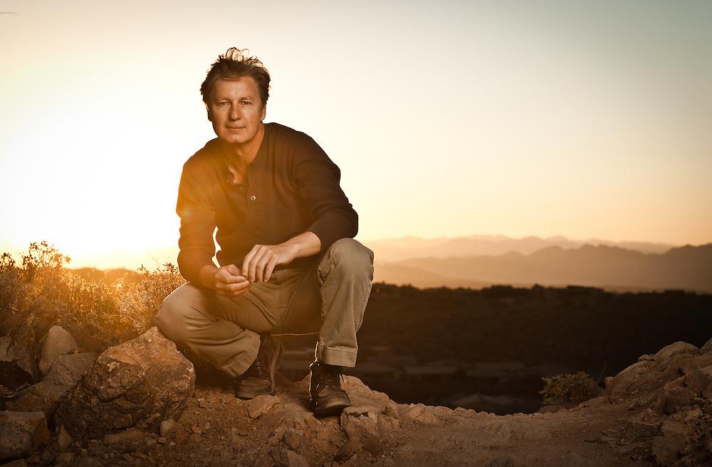 Brandel Chamblee, photographed in Scottsdale, Arizona.