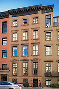 An historic townhouse at 11 Gramercy Park South, in New York City.