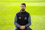 Lead Physiotherapist Jamie Thorpe portrait during the Somerset County Cricket Club PhotoCall 2017 at the Cooper Associates County Ground, Taunton, United Kingdom on 5 April 2017. Photo by Graham Hunt.