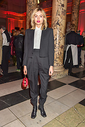 Staz Lindes at the Mary Quant VIP Preview at The Victoria & Albert Museum, London, England. 03 April 2019. <br /> <br /> ***For fees please contact us prior to publication***