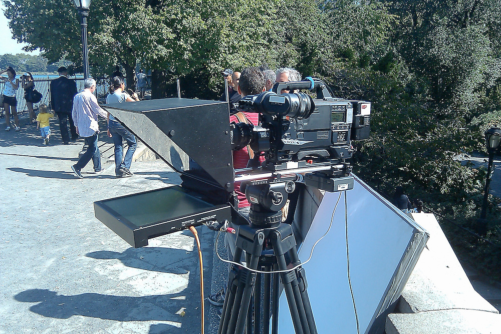 Wellness web video produced by Iomedia photographed in Central Park, NYC