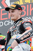 Chaz Davies comes 3rd in race 1,  Aruba.it Racing-Ducati Superbike Team, Chaz Davies, Ducati Panigale R,<br /> Philip Island, Australia, 03.03.2015 FIM World Superbike Championship - Honorarpflichtiges Bild, Motorrad WSBK -<br /> fee liable image, copyright © ATP / Damir IVKA