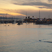 View of the Marina. Santa Barbara, CA.